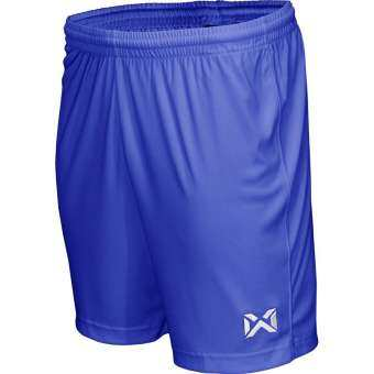 Warrix กางเกงฟุตบอล WP-1509 BB สีน้ำเงินผ้านุ่มไม่บาง-