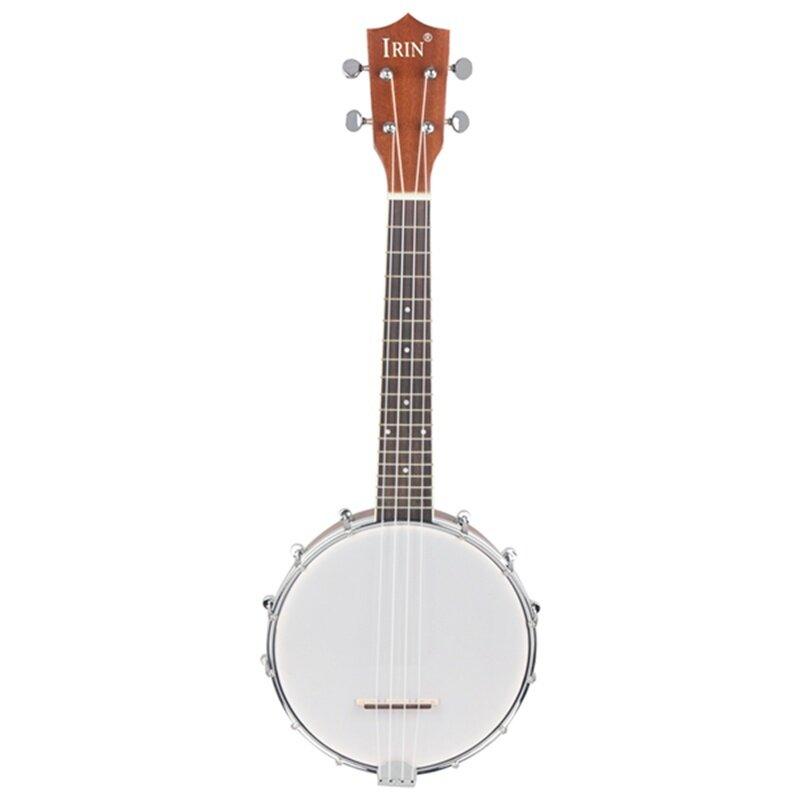 IRIN 23 inch Sapele Nylon 4 Strings Concert Banjo Uke Ukulele Bass Guitar Guitarra For Musical Stringed Instruments Lover Gift Malaysia