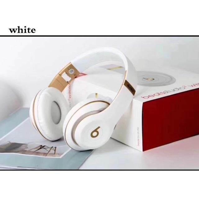 Beats studio 3 หูฟังบลูทูธไร้สาย หูฟังครอบหู มีป๊อปอีพ Bluetooth wireless