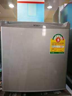 ส่งฟรี HITACHI MiniBar ตู้เย็น1ประตู 1.7คิว 49ลิตรสีสแตนเลส รุ่น R-20NP มีฉลากเบอร์5ครับ-