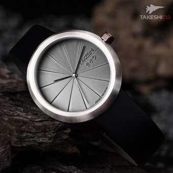 รับประกันศูนย์ - นาฬิกา ดำน้ำ TAKESHI CLASSY TURBINE TK04SL Japanese Drive นาฬิกาข้อมือ ผู้ชาย ผู้หญิง dot time