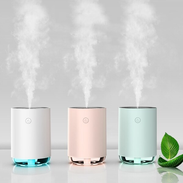 220Ml Aroma Essential Oil Diffuser Air Humidifier Aromatherapy Cool Mist Maker Fogger for Home Office and Baby