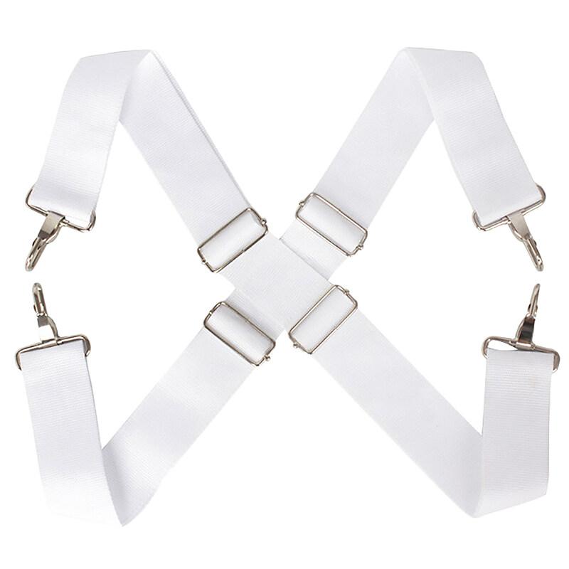 1 Pcs Adjustable Parade Marching Bass Drum Shoulder Strap Sling Nylon Belt Metal Clip Percussion Instrument Accessories