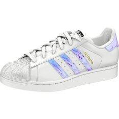 Adidas Aq6278 Originals Superstar J (white/metallic Silver) .