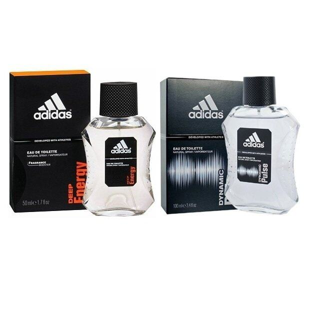 Adidas Dynamic Pulse Cologne for Men 100 ml +AdidasAdidas Deep Energy EDT 100 ml.