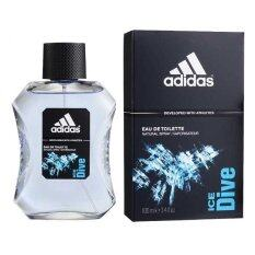 ขาย Adidas Ice Dive Adidas For Men Edt 100 Ml พร้อมกล่อง Adidas