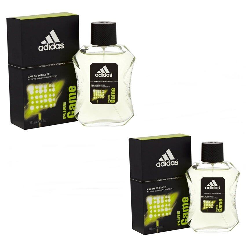 Adidas Pure Game For men 100 ml. แพคคู่ ( พร้อมกล่อง  )