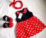 ทบทวน ที่สุด Adorable Cชุดกระโปรงเด็ก ชุดเดรสเด็ก แขนกุด ลายจุดแดง