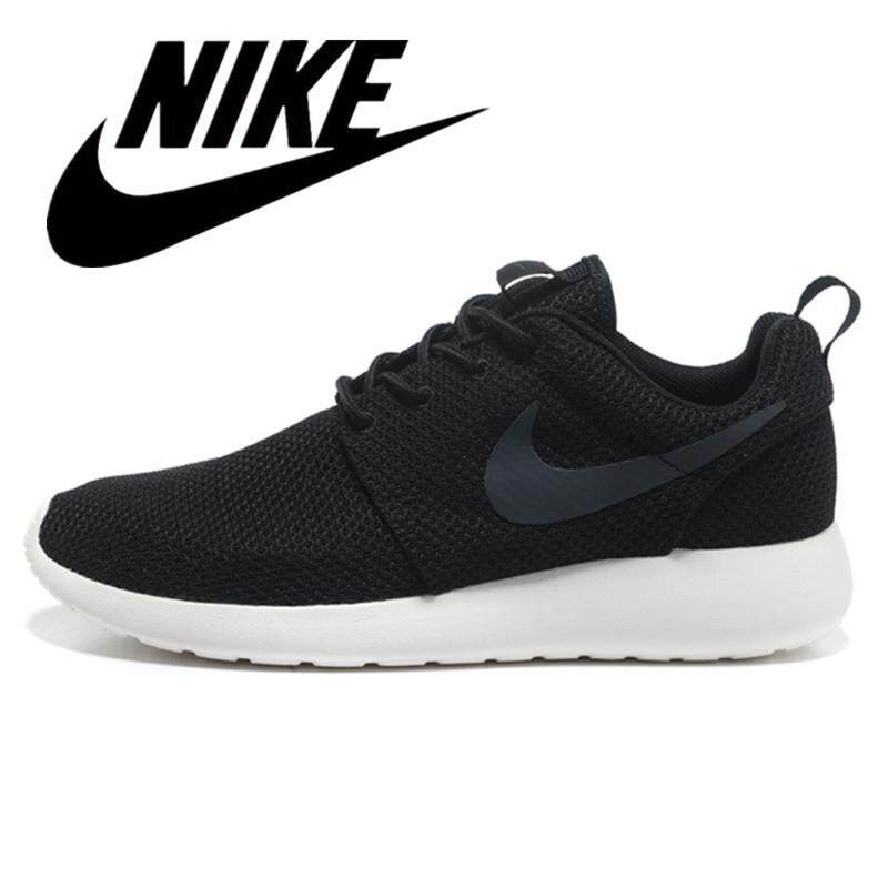 best cheap 0979e e57bf Nike ROSHE RUN ONE 1.0 London sneakers Men's and women's running shoes  Lightweight and breathable Black and white