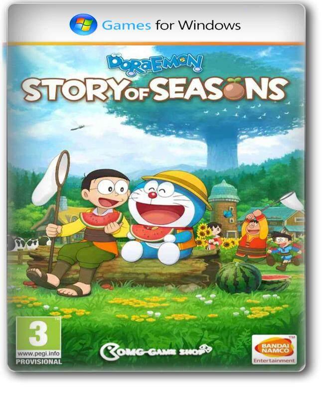 แผ่นเกม Pc Game - Doraemon Story Of Seasons เกมคอมพิวเตอร์ แนวปลูกผัก ฮาเวสมูน ห้ามพลาด.