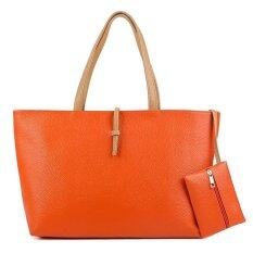 แฟชั่น กระเป๋า รุ่น Orange Basic ส้ม ใหม่ล่าสุด