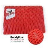 ขาย แผ่นดักทรายแมว Xl 70 50 ซม สีแดง Buddypaw ออนไลน์