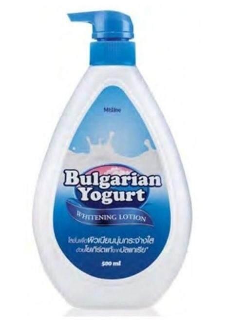 Mistine โลชั่น มิสทีน บัลแกเรี่ยน โยเกิร์ต (500มล.) / Mistine Bulgarian Yogurt Whitening Lotion.