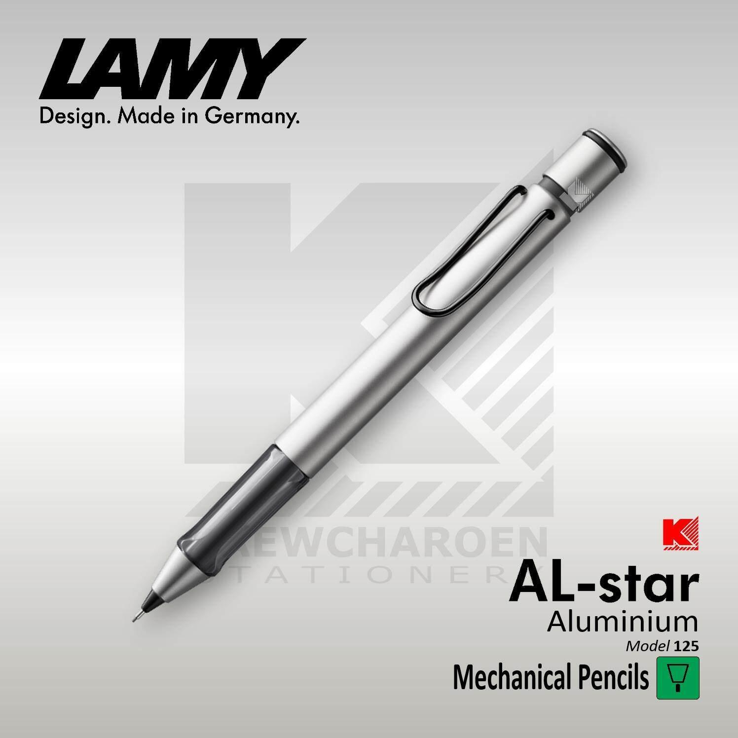 ดินสอกด Lamy Al-Star รุ่น 125 ด้ามสีเงินอลูมิเนี่ยม (ขนาด 0.5 มม.).