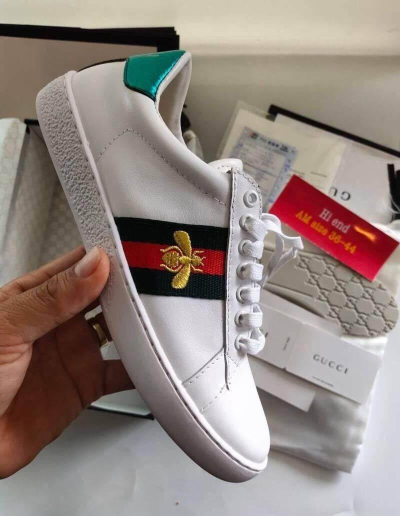 รองเท้า Gucci Ace Sneaker Bee (full Boxset) เก็บเงินปลายทาง - จัดส่งฟรี.