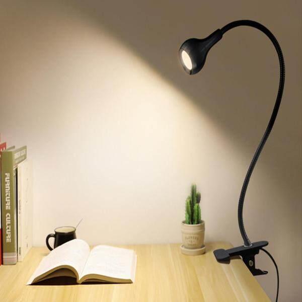 Bảng giá IKEE ☆ Đèn LED Linh Hoạt Đèn Để Bàn USB Kẹp Giường Học Đọc Sách Cho Ăn