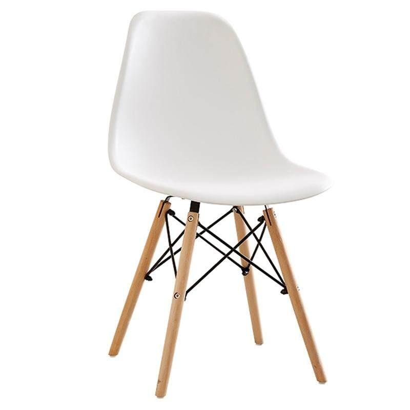 Bg Furniture เก้าอี้เอนกประสงค์ พร้อมพนักพิง เก้าอี้สไตล์โมเดิร์น เก้าอี้นั่งเล่น รุ่น C-1618 (white) By Bg Furniture.