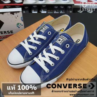 [แท้ 100%] Converse รองเท้า ผู้หญิง All Star DT Color Update Ox - Road Trip Blue [11100D1S6OB] (Made In Thailand)