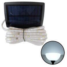 ขาย ไฟกระพริบโซล่าเซลล์ 100 Chip Smd Led 3 ฟังก์ชั่น เเสง ขาว Xml Solar ถูก