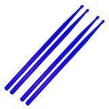 ราคา ไม้ตีกลองชุด ไม้ตีกลองพลาสติก สีน้ำเงิน2คู่ Plastic Drum Stick 2 Pairs Blue Drumstick ใหม่