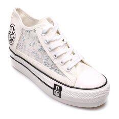 โปรโมชั่น Air Move รองเท้าแฟชั่นผู้หญิง รุ่น S07 White Air Move ใหม่ล่าสุด