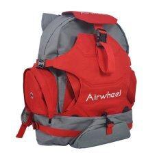ซื้อ Airwheel กระเป๋าเป้สะพายหลัง สำหรับใส่ พร้อมช่องใส่สัมภาระ สีแดง Airwheel
