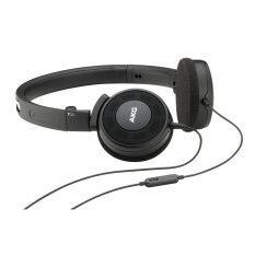 AKG หูฟัง on-ear พร้อม mic รุ่น Y30 (Black)