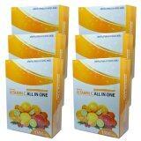 ส่วนลด All In One Vitamin C วิตามินซี ออลล์ อิน วัน 1300Mg 6 กล่อง 30 เม็ด กล่อง Vitamin C All In One