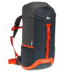 All Sport เป้สะพายหลัง Arpenaz 40 ระบบสายรัดฝากระเป๋า ดำส้ม เป็นต้นฉบับ