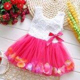 ขาย Ally Baby ชุดเดรส เด็กผู้หญิง Pink Rose Dress Pink Thailand ถูก