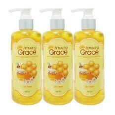 ขาย Amazing Grace ครีมอาบน้ำ Bee Venom Shower Gel แบบ Home Spa 3 ขวด ขวดละ 300 Ml Amazing Grace ผู้ค้าส่ง