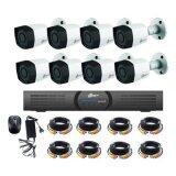 ซื้อ Amorn Dahua ชุดกล้องวงจรปิดสำเร็จรูป 8 กล้อง ระบบ Hdcvi ความละเอียด 1 ล้านพิกเซล สามารถติดตั้งเองได้ มีคลิป Vdo สอนการติดตั้ง ถูก กรุงเทพมหานคร