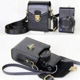 ราคา Anti Shock Hard Skin Shoulder Bags Pu Leather Camera Case For Canon Powershot G9X G7X G7X Mark Ii S120 Sx600 Ixus 275 G16 Sx710 Sx700 Black Intl จีน