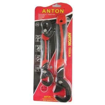 Anton ชุดประแจอเนกประสงค์ ขนาด 9 - 32 มม. ชุดละ 2 ชิ้น (สีดำ)-