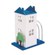 ขาย ซื้อ ออนไลน์ Anya ที่เก็บมีด รูปบ้าน รุ่น D 681 สีฟ้า