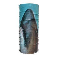 ราคา ราคาถูกที่สุด Anyhead ผ้าโพกศรีษะอเนกประสงค์ รุ่น Ah027 Great White Shark Blue