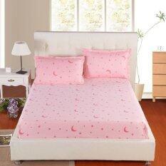 Apk ชุดผ้าปูที่นอน 3 ชิ้น 3 5 ฟุต รุ่น Ss3 21 สีชมพูลายดาว เป็นต้นฉบับ