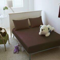โปรโมชั่น Apk ชุดผ้าปูที่นอน 5 ชิ้น 5 ฟุต รุ่น Ss5 06 สีน้ำตาล ไทย