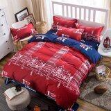 ขาย Apk ชุดผ้าปูที่นอน 5 ชิ้น พร้อมผ้านวมหนา 3 5 ฟุต รุ่น N3 15 ลาย I Love London สีแดง น้ำเงิน Apk ออนไลน์