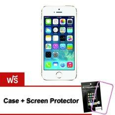 Apple iPhone5S 32 GB (Gold) Free Case+ScreenProtector