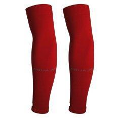 ขาย Aqua X ปลอกแขนกันแดด กันยูวี จากเกาหลี สีแดง Free Size เป็นต้นฉบับ