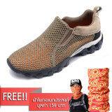 ราคา Aquatwo Flow Relax Shoes S957 รองเท้าลุยน้ำ ลุยฝน แห้งไว สีน้ำตาล แถมฟรี ผ้าโพกศรีษะ Pentagram Aqua ใหม่