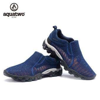 Aquatwo รุ่น S957 รองเท้าสุดเท่ห์ใส่เล่นกีฬา ผจญภัย เดินป่า เที่ยวทะเล ลุยฝน แห้งเร็ว น้ำหนักเบา(สีน-