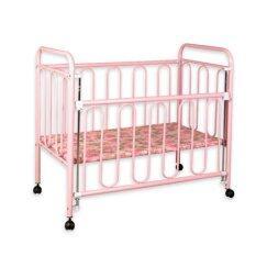 ส่วนลด Asia เตียงเด็กมีลูกกรง สีชมพู รุ่น B41