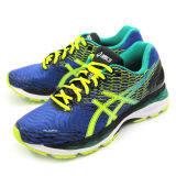 ทบทวน ที่สุด Asics Men Running รองเท้าวิ่งผู้ชาย Gel Nimbus 18 T600N 4307 Blue Flash Yellow Black