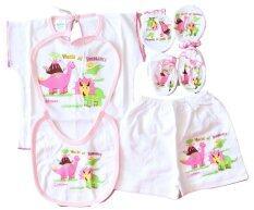 ทบทวน Attoon ชุดอุปกรณ์ เด็กแรกเกิด ผ้าเรียบ Cottoon สีชมพู