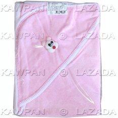 Attoon ผ้าข่นหนูห่อตัวเด็ก สีชมพู เป็นต้นฉบับ