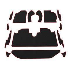 ส่วนลด Auto Cover พรมรถยนต์ Toyota All New Vios ปี 2015 2020 พรมกระดุม Super Save ชุด Full 14 ชิ้น สีดำขอบแดง Auto Cover ใน ไทย