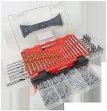 ส่วนลด สินค้า Automac ชุดดอกสว่านพร้อมพร้อมกระเป๋า Atm 226D 226ชิ้น ชุด แดง