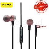 ราคา Awei Es 20Ty Powerful Sound Experience Hi Fi Earphones Pink เป็นต้นฉบับ